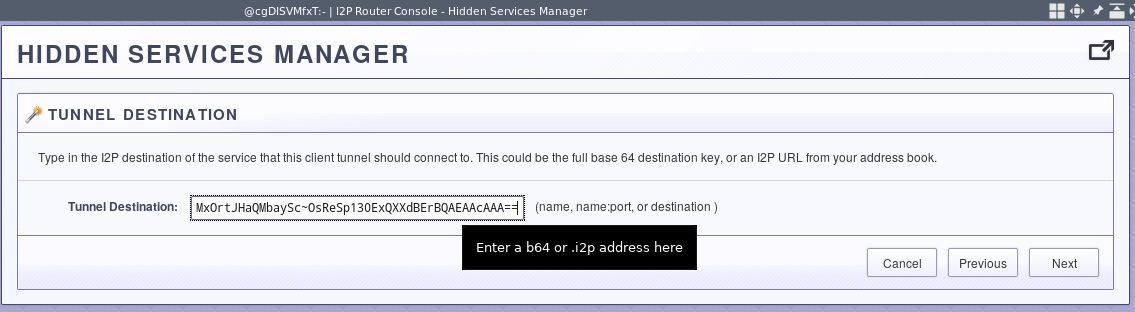 Configuring an SSH server on i2p